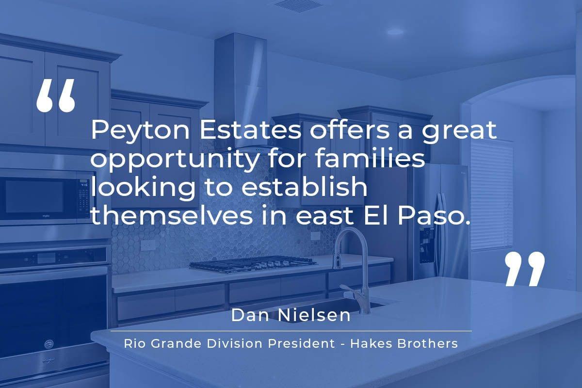 Peyton Estates Announcement
