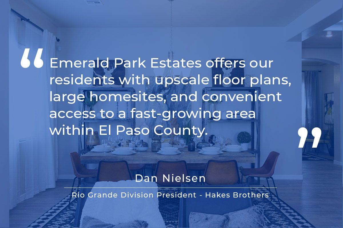 Emerald Park Estates Announcement