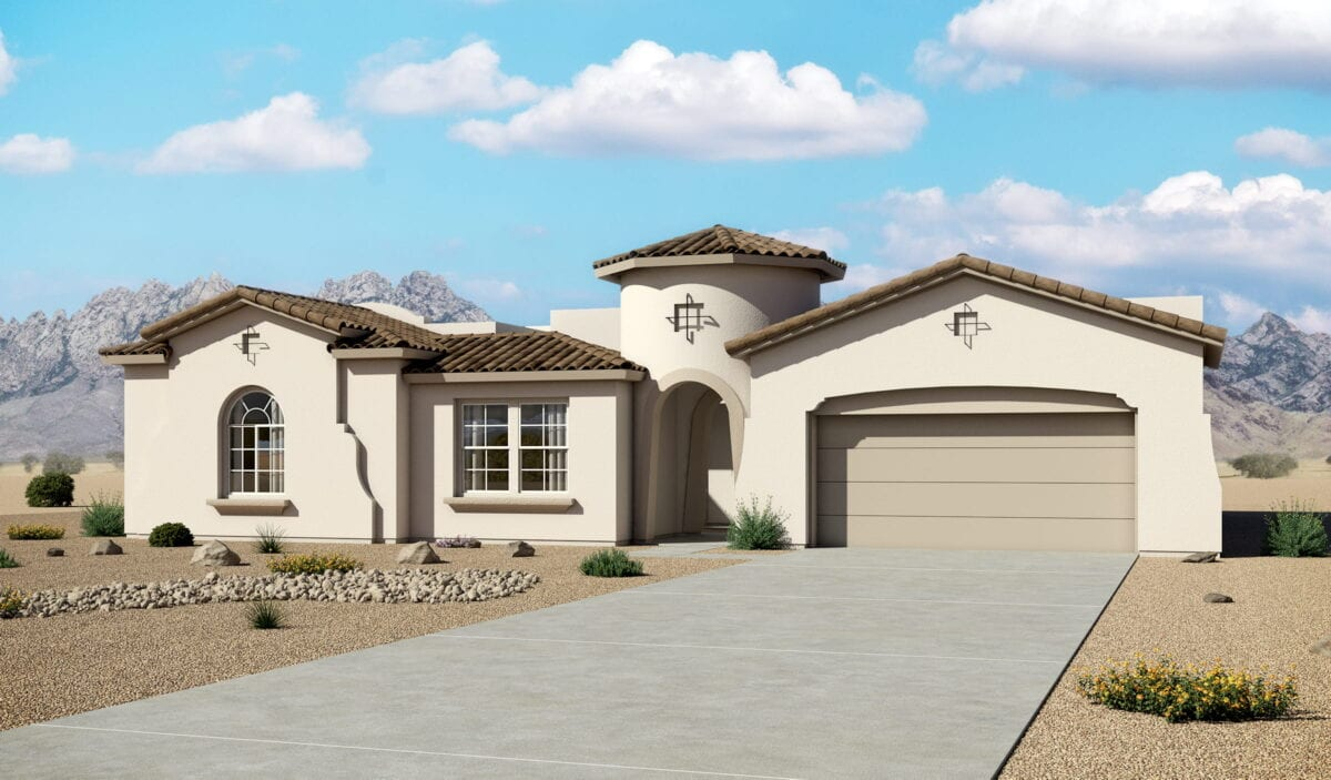 Hakes Brothers Spanish Exterior Home Rendering