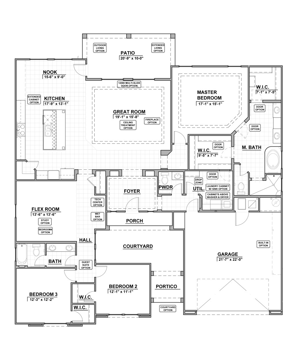 2516 Floor Plan Layout