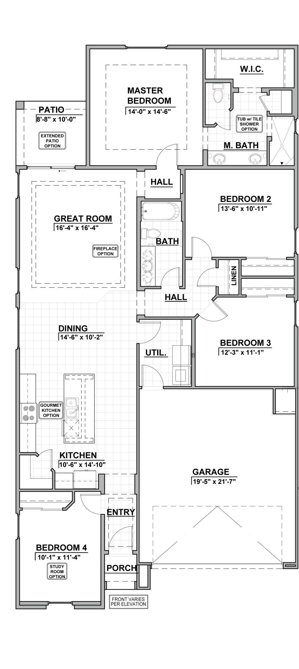 Valle Prado 1752 Floor Plan