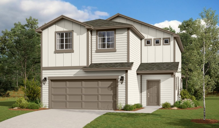 Hunter's Place 2316 Colorado Craftsman Elevation