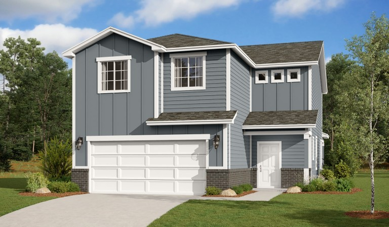 Hunter's Place 2316 Colorado Traditional Elevation