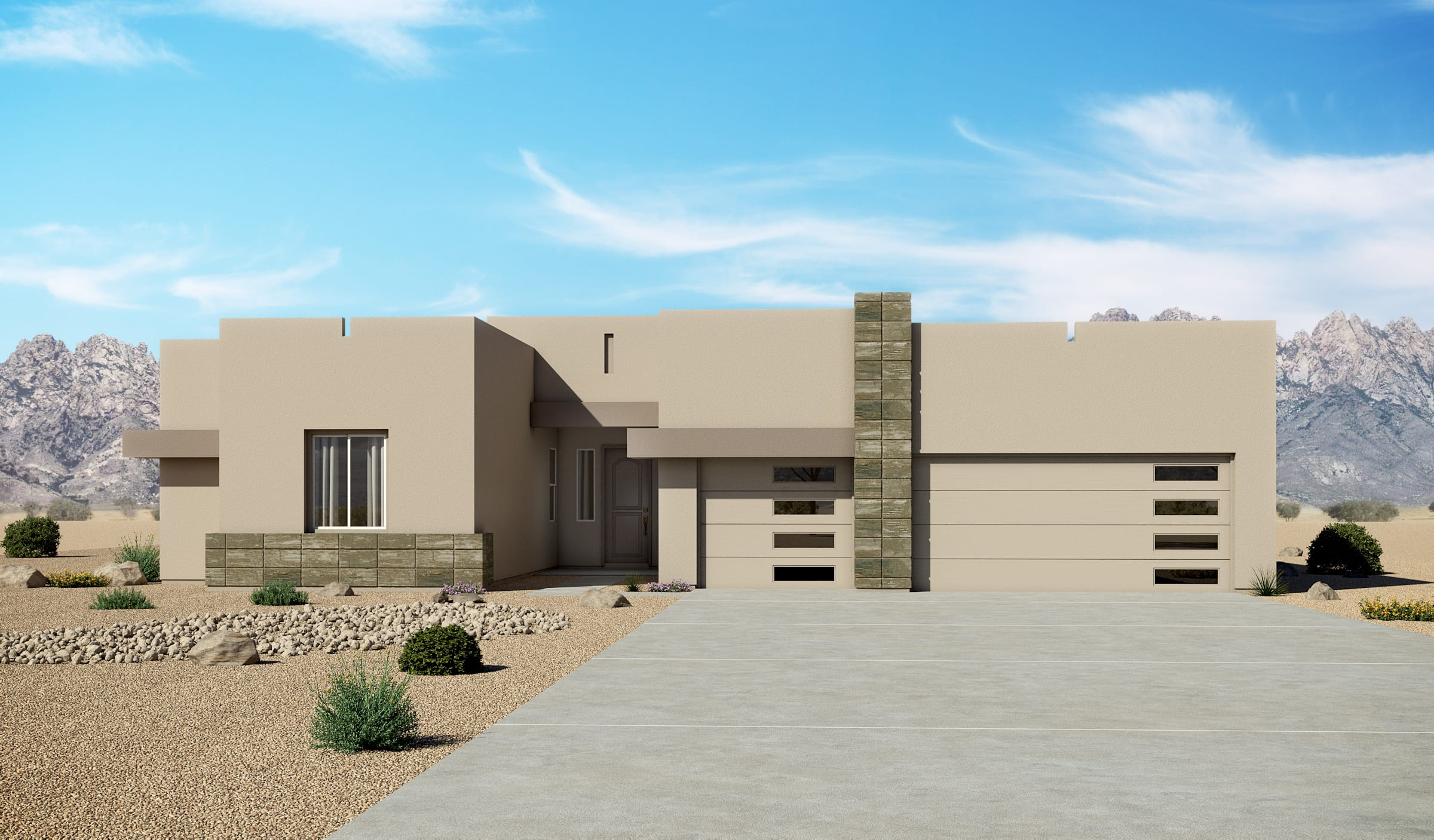 Mariposa Estates 3012 Contemporary Elevation