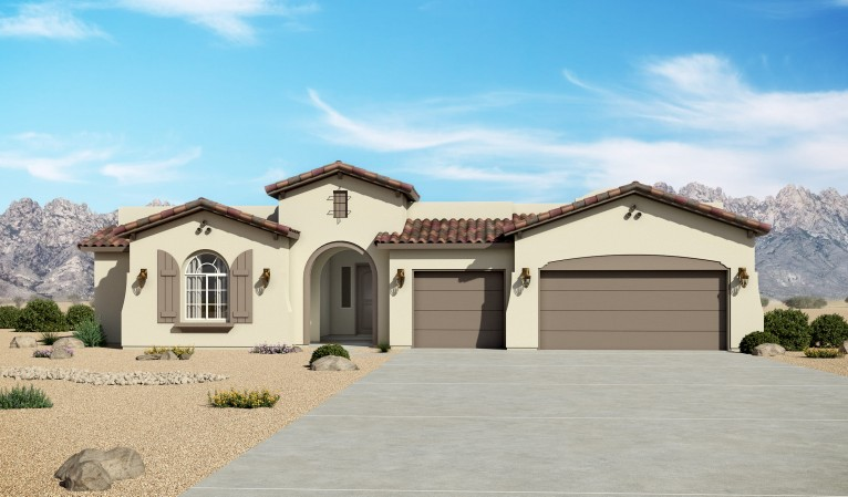 Mariposa Estates 3012 Spanish Elevation