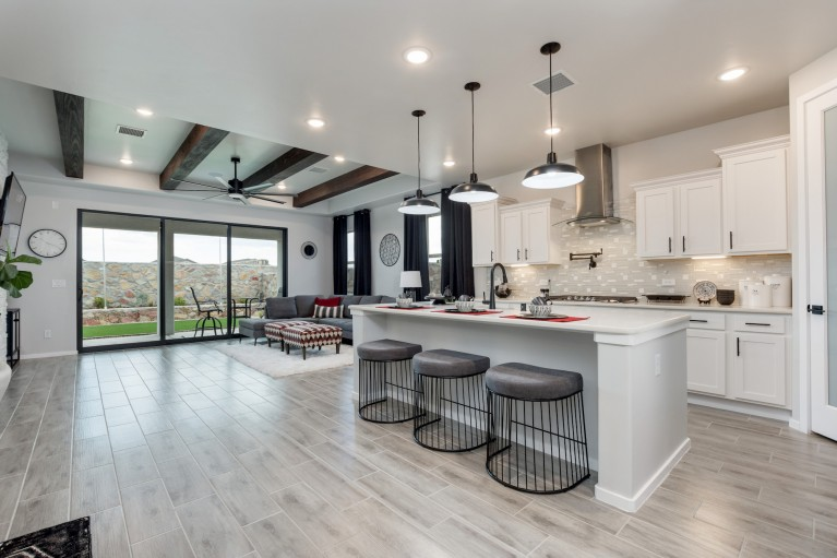Model Home of Home Offered at Metro Central